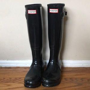 Hunter Rain Boots - Black